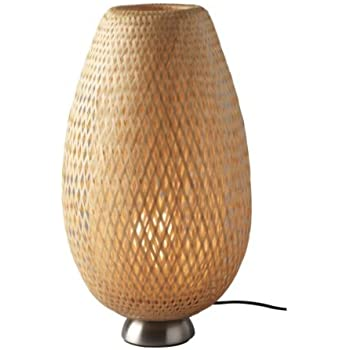 Ikea 201 620 01 Vate Table Lamp Soft Mood Asian Rice Paper