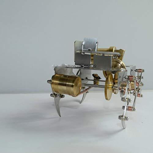 REFIT Metal Gear, Upgraded Version Steam Reptile Robot Model Mini Steam Engine Creative Gift