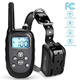 Vocti Dog Training Collar, 【2018 New Version】 1000ft Dog Shock Collar Remote, Waterproof Dog Bark Collar Rechargeable Electronic Collar Trainning Dogs For Sale