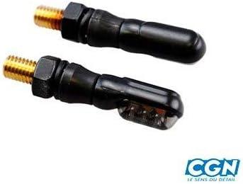 Motodak Clignotant tunr Mini LED Noir//Fume Homologue ce pr