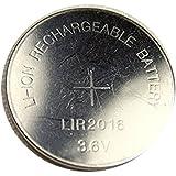 1 Pile Bouton CR2016 Li-ion Rechargeable 3.6V Lir2016