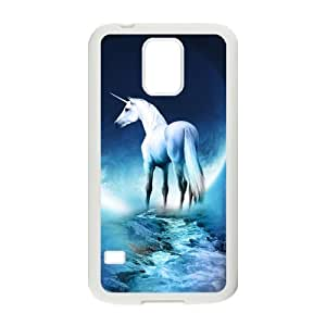 19 Customized Fairy Tales Unicorn Diy Design For Samsung Galaxy S5 Hard Back Cover Case DE-207