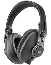 AKG Pro Audio Over-Ear, Closed-Back, Foldable Studio Headphones