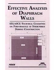 Effective Analysis of Diaphragm Walls