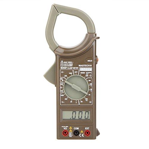 Constructan(TM) MASTECH Digital Clamp Meter Ammeter Voltmeter Ohmmeter Insulation w/Diode & Frequency Tester Ampere Amperimetro Megohmmeter