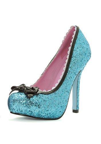 Princess (Blue) Adult Shoes Size -