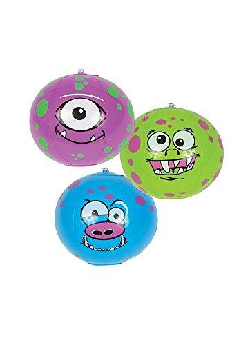 Mini Monster Inflatable Beach Balls