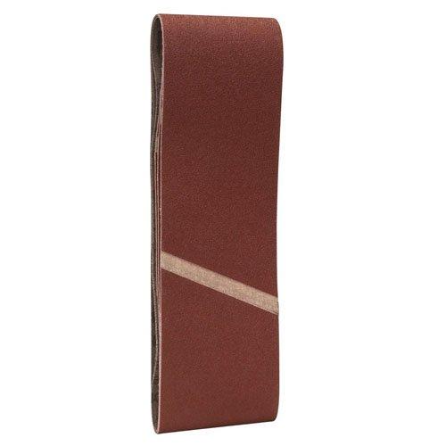 Red Set of 10 Pieces 75 x 533 mm Bosch Professional 2608607259 Sanding Belts75x533 G120