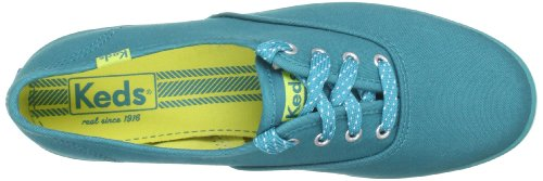 Keds Champion Seasonal Damen Schnürhalbschuhe Blau (Harbor Blue)