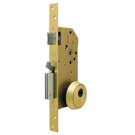 Tesa Assa Abloy R200Nt16T Cerradura Monopunto De Seguridad Para Puertas De Madera, 50 Mm: Amazon.es: Bricolaje y herramientas