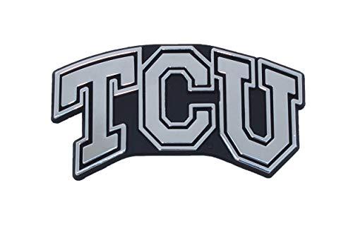 TCU Texas Christian University Horned Frogs Metal Auto Emblem - Many Available! (Blocked)