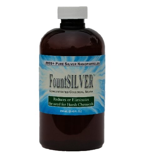 FountSILVER - Concentrated Colloidal Silver - 250 mL (Colloidal Fountain)