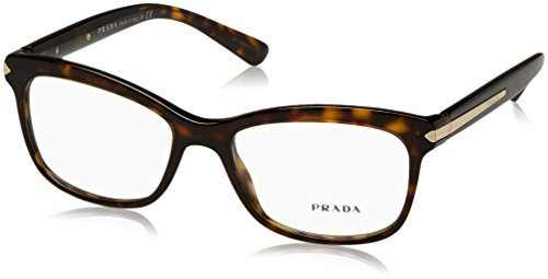 Prada Unisex 0PR 10RV Havana One - Glasses Women Brand Name For
