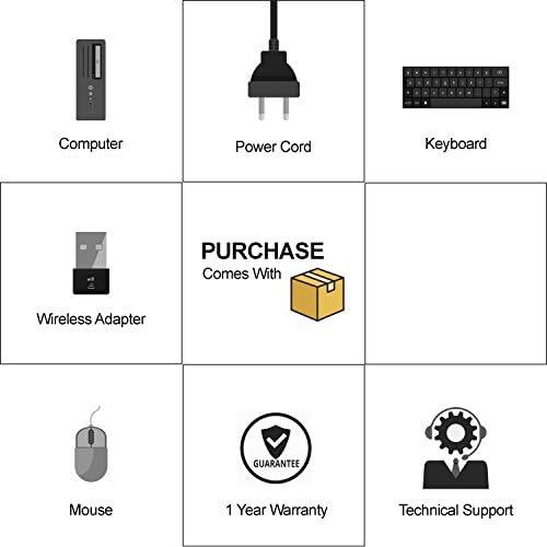 (Renewed) HP Flagship Pro Desktop Computer, Core I5 Up to 3.6GHz, 8GB, 512GB SSD, WiFi, DVD, DP, VGA, USB 3.0, Windows 10 Pro 64 Bit-Multi Language-English/Spanish/French(CI5)