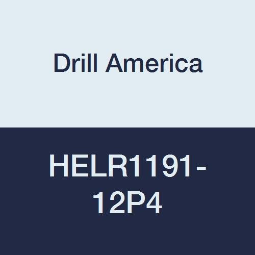 Pack of 4 Drill America HELR1191-12 High Speed Steel Inserts 3//4-16