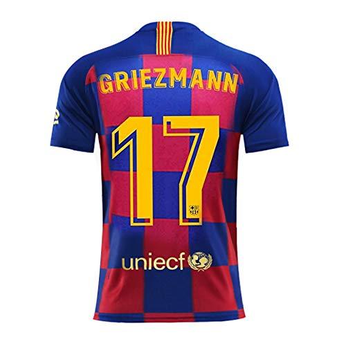 LISIMKE 2018//19 New Barcelona Messi Away Soccer Mens Soccer Jersey-1