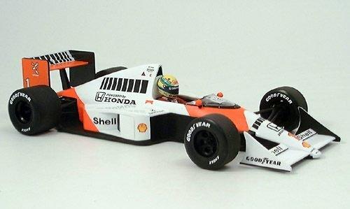Minichamps 1/18 Scale 540 891801 Alain Prost SIGNED Senna McLaren MP4/5 1989 by McLaren (Image #1)