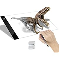 Tracing Light Box A4 Ultra-thin portable USB Power LED Artcraft Drawing Light pad for Artists, Drawing, Sketching, Animation
