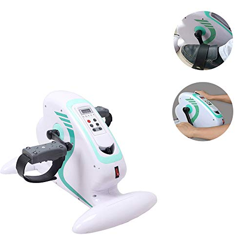 - YXMxxm Mini Steppers for Exercise - Electric Exercise Bike Upper Lower Limbs Trainer for Stroke Rehabilitation/Physiotherapy/Body Exercise
