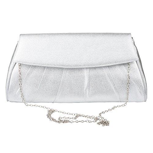 Baguette Handbag Bag - La Regale Large Baguette Clutch Handbag – Formal Evening Purse