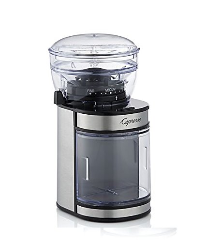 Capresso 595.05 Ceramic Burr Grinder, Stainless Steel by Capresso