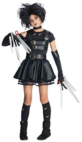 Miss Scissorhands Tween Costumes (Miss Scissorhands Costume - Medium)