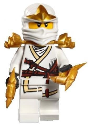 LEGO Ninjago Minifigure - Zane ZX with Throwing Stars -