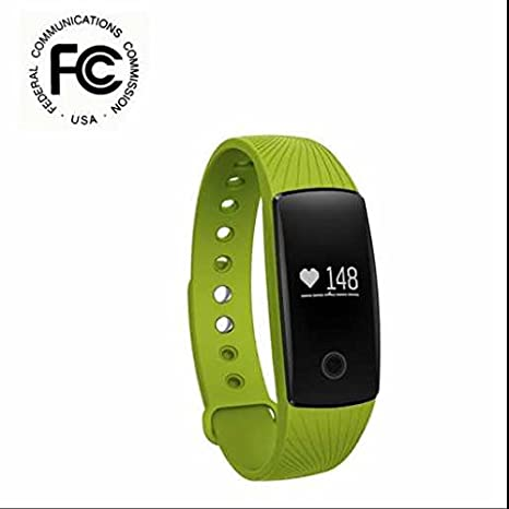 Bluetooth Deporte Smart Watch parada Relojes Fitness Bandas, Pulso Sensor Armband, capacitiva Point Touch, podómetro, salud Perseguidor para iPhone Android Sumsung HTC Smartphone, color verde: Amazon.es: Deportes y aire libre