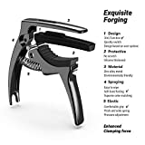 TANMUS 3in1 Guitar Capo for Acoustic and Electric