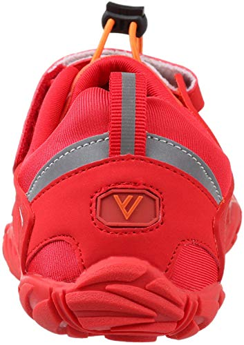 WHITIN Men's Trail Running Shoes Minimalist Barefoot 5 Five Fingers Wide Width Toe Box Gym Workout Fitness Low Zero Drop Male Walking Trainer Cross Training Crossfit Orange Red Size 8 by WHITIN (Image #3)