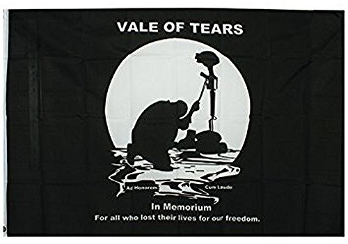 noveltees-vale-of-tears-black-and-white-in-memory-3-x-5-flag