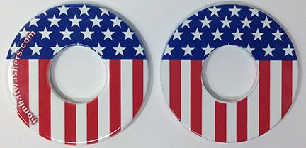 US Flag Washers by Bombat Washers