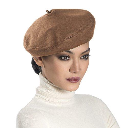 Eric Javits Luxury Fashion Designer Women's Headwear Hat - Betty - Camel by Eric Javits