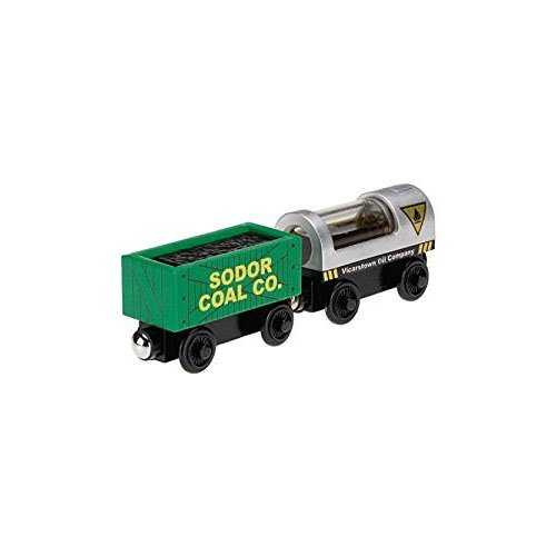 Fisher-Price Thomas & Friends Wooden Railway, Oil and Coal - Wooden Railway Thomas Aquarium
