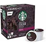 Starbucks Italian Roast Dark Roast Single Cup Coffee for Keurig Brewers (Italian Roast, 96 Count)