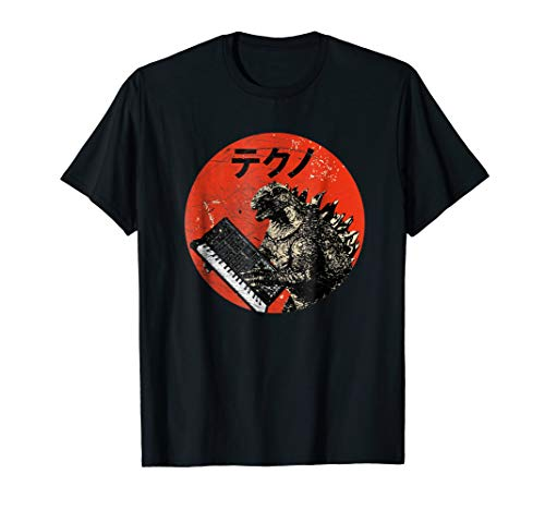 (Vintage Analog Synthesizer - Japanese Retro Monster T-Shirt)