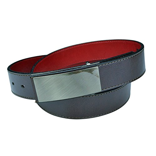 Cruelty Free Dress Belts for Men, Genuine Non Leather Belt (Truth Tilikum) (36, Brown)