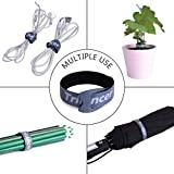 Reusable Cable Straps Wire Ties, Pack of 50