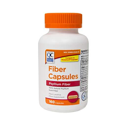 Quality Choice FIBER CAPSULES 160CP