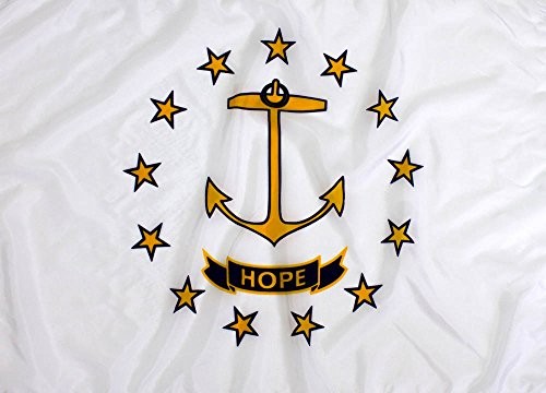3x5ft Rhode Island Flag - Highest Quality Outdoor Nylon
