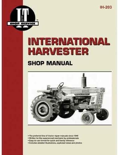 INTERNATIONAL IH 786 886 986 1086 TRACTOR OWNERS OPERATORS MANUAL MAINTENANCE