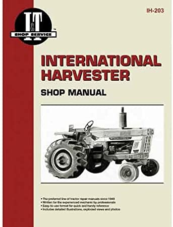 [DIAGRAM_5UK]  Amazon.com: I&T Shop Manual - IH-203 Harvester International 674 674 786  786 1026 1026 464 464 826 826 966 966 584 584 986 986 886 886 766 766 1066  1066 454 454 484 484 1086 1086 574 574: Garden & Outdoor | Ih 1066 Wiring Diagram |  | Amazon.com