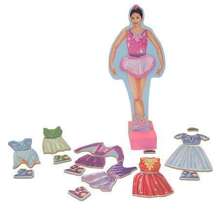 Melissa Doug Magnetic Ballerina Dress