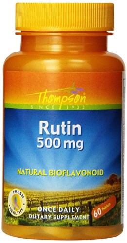 Thompson Rutin 500 mg, 60 Count (Pack of 4)