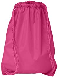 Boston Drawstring Backpack_Hot Pink_One