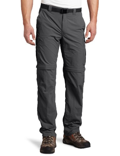 Columbia Silver Ridge Convertible Pant, 34x32, Grill / Sports Apparel