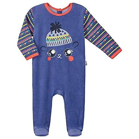 08d6ad0b39de9 Pyjama bébé velours Funny Pets - Taille - 3 mois (62 cm)  Amazon.fr ...