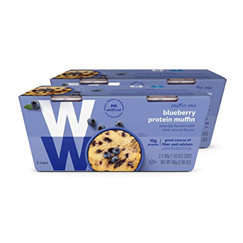 (WW Blueberry Muffin Mug Cake - 3 SmartPoints - 2 Boxes (4 Count Total) - Weight Watchers Reimagined)