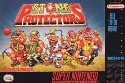 Resultado de imagem para stone protectors snes