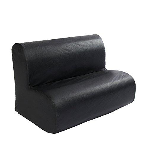 Foamnasium Cloud Sofa Playset, Black by Foamnasium